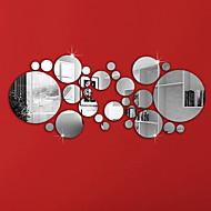 Dekorative Wand Sticker - Spiegel Wandsticker Formen Wohnzimmer / Schlafzimmer / Badezimmer