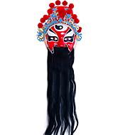 baratos -Decorações de férias Decorações de Halloween Máscaras de Dia das Bruxas / Objetos de decoração Decorativa / Legal Vermelho 1pç