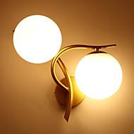 Apliques modernos / contemporáneos& Apliques de metal con luz de pared 110-120v / 220-240v 10w