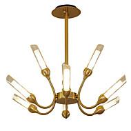 billige Takbelysning og vifter-LWD 9-Light Sputnik / Cone / Geometrisk Lysekroner Kreativ, Nytt Design, Stearinlys Stil, 110-120V / 220-240V Pære ikke Inkludert