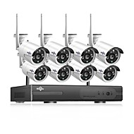 cheap Wireless CCTV System-Hiseeu® 1080P Wireless CCTV System HDD 2MP 4CH Powerful NVR IP IR-CUT  CCTV Camera IP Security System Surveillance Kits