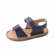 baratos Sapatos de Menino-Para Meninos Sapatos Pele Verão Conforto Sandálias para Preto / Bege / Camel