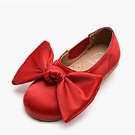 baratos Sapatos de Menina-Para Meninas Sapatos Couro Sintético Primavera & Outono Conforto / Sapatos para Daminhas de Honra Rasos para Vermelho / Azul Real