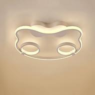 billige Taklamper-Originale Takplafond Omgivelseslys Malte Finishes Aluminum Matt, Øyebeskyttelse, Søtt 110-120V / 220-240V Varm Hvit / Kald Hvit LED lyskilde inkludert / Integrert LED