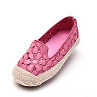 baratos Sapatos de Menina-Para Meninas Sapatos Couro Sintético Primavera & Outono Conforto Rasos Vazados para Infantil Azul / Rosa claro