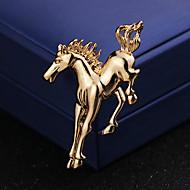 בגדי ריקוד גברים קלאסי מסוגנן תפס לשיער סוס יצירתי אומנותי פשוט בריטי סִכָּה תכשיטים זהב כסף עבור חתונה יומי