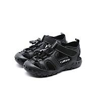 baratos Sapatos de Menino-Para Meninos Sapatos Pele Verão Conforto Sandálias Velcro para Infantil Branco / Preto