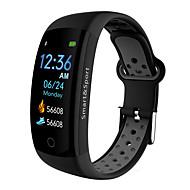 BoZhuo Q6-PRO Unisex Akıllı Bilezik Android iOS Bluetooth Su Geçirmez Kalp Ritmi Monitörü Kan Basıncı Ölçümü Yakılan Kaloriler Egzersiz Kaydı Kronometre Pedometre Arama Hatırlatıcı Uyku Takip Edici