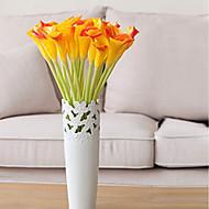 billige Kunstige blomster-Kunstige blomster 3 Gren Klassisk / Singel Stilfull / Pastorale Stilen Calla-lilje Bordblomst