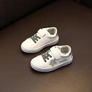 baratos Sapatos de Menino-Para Meninos / Para Meninas Sapatos Sintéticos Primavera & Outono Conforto Tênis Velcro para Infantil / Adolescente Prateado / Rosa claro