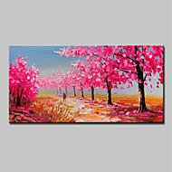 ハング塗装油絵 手描きの - 抽象画 風景 近代の 内枠を含めます / ストレッチキャンバス