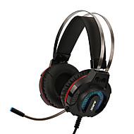 AJAZZ AX260 Headband Kaapeli Kuulokkeet Korvakuulokket Muuta nahkaa / Muovikuori / Metalli Gaming Kuuloke Stereo / Mikrofonilla / Äänenvoimakkuuden säätö kuulokkeet