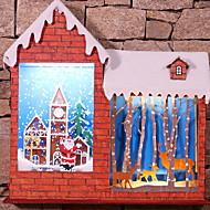 baratos Decoração-Ornamentos Férias De madeira de madeira / Novidades Decoração de Natal