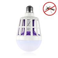 billige Globepærer med LED-1pc 15 W 600 lm E26 / E27 LED-globepærer 24 LED perler SMD 5630 Dekorativ / Insekter Mygg Fly Killer Hvit 175-265 V