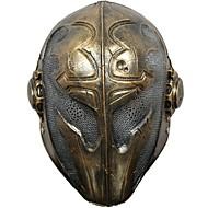 baratos -Decorações de férias Decorações de Halloween Máscaras de Dia das Bruxas Legal Amarelo Claro 1pç
