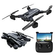 RC Drone F196 RTF 4 Kanaler 6 Akse 2.4G Med HD-kamera 2.0MP 720P Fjernstyret quadcopter En Knap Til Returflyvning / Hovedløs Modus Fjernstyret Quadcopter / Fjernstyring / 1 USB-kabel