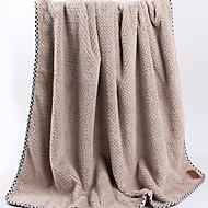 billiga Handdukar och badrockar-Överlägsen kvalitet Badhandduk, Enfärgad / Geometrisk 100% Polyester Badrum 1 pcs