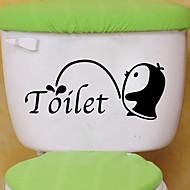 Toilet klistermærker - Animal Wall Stickers Dyr Stue / Soveværelse / Badeværelse