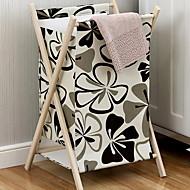 baratos Armazenamento e Organização-Tecidos Retângular Novo Design Casa Organização, 1pç cesta de lavanderia / Cestos de Armazenamento