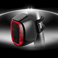 billige Sykkellykter og reflekser-sikkerhet lys / Baklys LED Sykling Vanntett, Justerbar, Kul 50 lm Oppladbart / Strøm Rød Camping / Vandring / Grotte Udforskning / Sykling