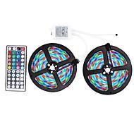 ZDM® 10m RGB Strip Lights 600 LEDs 2835 SMD RGB Remote Control / RC /  Cuttable / Dimmable 12 V / Self Adhesive