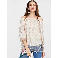 Dame - Blomstret Sødt Bluse