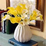 billige Kunstige blomster-Kunstige blomster 8.0 Gren Klassisk / Singel Stilfull / Pastorale Stilen Calla-lilje Bordblomst