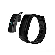 tanie Inteligentne zegarki-Inteligentne Bransoletka YY-IY3 na iOS / Android 4.4 i iOS 8.0 lub nowszy Pulsometr / Wodoodporne / Spalone kalorie / Odbieranie bez użycia rąk / Ekran dotykowy Stoper / Krokomierz / Powiadamianie o