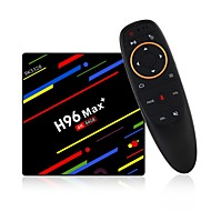 cheap -H96 Max 4G+64G TV Box / Air Mouse Android 8.1 TV Box / Air Mouse RK3328 4GB RAM 64GB ROM Octa Core Voice Control