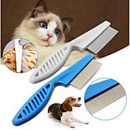 Χαμηλού Κόστους Προϊόντα φροντίδας σκύλων-Σκυλιά / Γάτες Σετ Καλλωπισμού / Καθαρισμός Χτένες Καθημερινά Λευκό