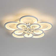 billige Bestelgere-UMEI™ Geometrisk / Originale Takplafond Omgivelseslys Malte Finishes Metall Akryl Krystall, Kreativ, Nytt Design 110-120V / 220-240V Varm Hvit / Hvit / Dimbar med fjernkontroll LED lyskilde inkludert