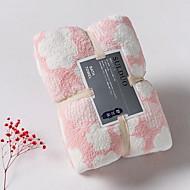 billiga Handdukar och badrockar-Överlägsen kvalitet Badhandduk, Randig / Geometrisk Polyester / Bomull Blandning Badrum 1 pcs