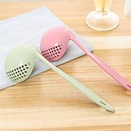 baratos Utensílios de Cozinha-1pç Utensílios de cozinha PP Multi-Função / Aderência conveniente / Gadget de Cozinha Criativa Escumadeira / Colher Multifunções