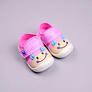 baratos Sapatos de Menino-Para Meninos Sapatos Algodão Primavera & Outono Primeiros Passos Tênis Velcro para Bebê Vermelho / Azul / Rosa claro / Estampa Colorida