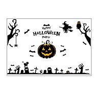 billiga Väggkonst-Dekrativa Väggstickers - Väggstickers Flygplan / Holiday väggdekaler Halloween / Högtid Barnkammare / Barnrum