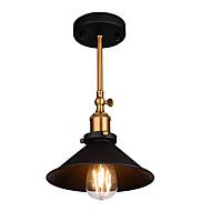 billige Taklamper-Takplafond Nedlys Malte Finishes Metall Justerbar 110-120V / 220-240V Pære ikke Inkludert / E26 / E27