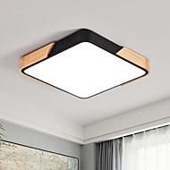 billige Taklamper-Geometrisk Takplafond Omgivelseslys - Mulighet for demping, 220-240V, Varm hvit + hvit, LED lyskilde inkludert