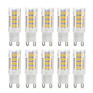billige Bi-pin lamper med LED-YWXLIGHT® 10pcs 5 W 500 lm G9 LED-lamper med G-sokkel T 51 LED perler SMD 2835 Varm hvit / Kjølig hvit 220-240 V