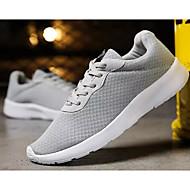 baratos Sapatos de Tamanho Pequeno-Unisexo Sapatos Confortáveis Com Transparência Primavera & Outono Tênis Preto / Cinzento