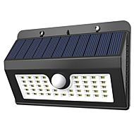 billige Utendørs Lampeskjermer-YouOKLight 1pc 1 W Solar Wall Light Solar Kjølig hvit 3.7 V Utendørsbelysning