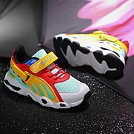 baratos Sapatos de Menino-Para Meninos / Para Meninas Sapatos Couro Ecológico Primavera & Outono / Primavera Conforto Tênis Corrida / Caminhada Cadarço / Combinação para Infantil / Adolescente Branco / Preto / Amarelo