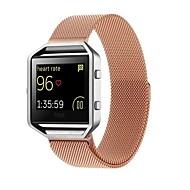 billiga Smart klocka Tillbehör-Klockarmband för Fitbit Blaze Fitbit Milanesisk loop Rostfritt stål Handledsrem