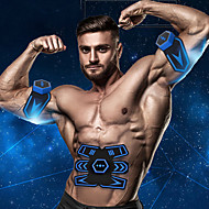 tanie Sprzęt i akcesoria fitness-Stymulator mięśni brzucha / Pas modelujący brzuch / Trener Abs EMS Z Plastik Elektroniczny, Trening siłowy, Toner mięśni Trening EMS, Wzmacnianie mięśni, Trening ABS, Wzmacnianie mięśni brzucha Dla
