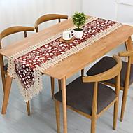 billige Duker-Moderne 100g / m2 Polyester Strik Stretch Kvadrat Bordløpere Geometrisk Borddekorasjoner 1 pcs