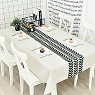 billige Bordduker-Moderne Bomull Kvadrat Duge Geometrisk Borddekorasjoner 1 pcs