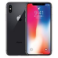 Apple iPhone X A1865 5.8 אִינְטשׁ 64GB טלפון חכם 4G - משופץ(אפור) / 12