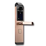 billige Intelligente låser-Factory OEM Rustfritt Stål Intelligent Lås Smart hjemme sikkerhet System RFID / Lavt batteri påminnelse / Anti peeping passord Hjem / Hjem / kontor / Hotell (Lås opp modus Fingeravtrykk / Passord