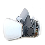 1pc Gummi Maske Sikkerhed og beskyttelsesudstyr Gasbeskyttelse Anti-skrid Støvsikker