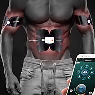 Stimolatore di addominali Cintura addominale Controllo APP Bluetooth USB Allenamento EMS Tonificazione muscolare Allenamento addominali Fitness Allenamento in palestra Allenarsi Per Da uomo Da donna