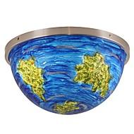 billige Taklamper-QIHengZhaoMing Takplafond Omgivelseslys Messing Metall Marmor 110-120V / 220-240V Varm Hvit LED lyskilde inkludert